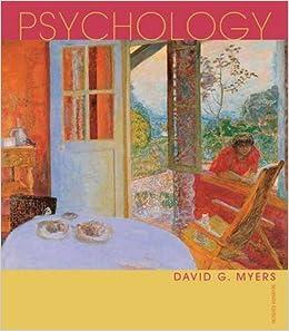 Amazon.com: Psychology (9780716752516): David G. Myers: Books