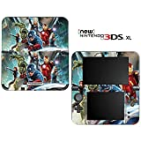 Avengers Decorative Video Game Decal Cover Skin Protector for New Nintendo 3DS XL (2015 Edition)
