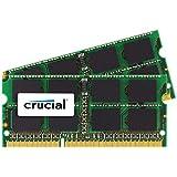 Crucial 16GB Kit 8GBx2 DDR3L 1866 MT S PC3-14900 SODIMM 204-Pin Memory For Mac - CT2K8G3S186DM