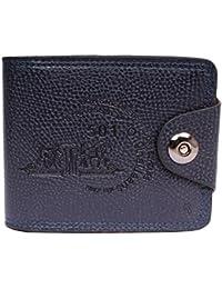Sushito Designer Navy Blue Men's Wallet