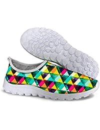 FOR U DESIGNS Stylish Glittering Women S Slip On Mesh Sneaker Running Shoes