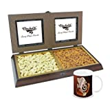 Chocholik Premium Gifts - Amazing Dry Fruit Combination With Diwali Special Coffee Mug - Gifts For Diwali