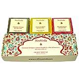 NeoVeda Soap Set - Cinnamon Orange, Lemon Grapefruit & Mint & Rosemary-75 GMS X 3
