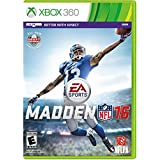 Madden Nfl 16 Xbox 360 New And Factory Sealed Fast Shipping!!!
