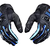 Professional Motorcycle Motocross Racing Full Finger Gloves Sportswear Cycling Outdoor Sports Gloves-Scoyco Blue-xl...