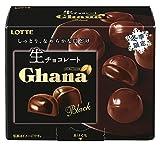 ロッテ ガーナ生チョコレート<ブラック> 64g×6個