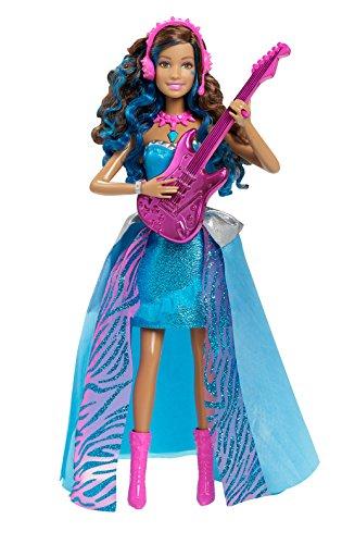 Barbie Rock And Royals Erika Doll, Multi Color