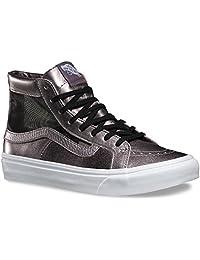 Vans Unisex Mesh Metallic SK8-Hi Slim Cutout Sneaker