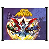 Battle of the Planets Gatchaman Anime Fabric Wall Scroll Poster (42