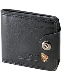 Om Fancy Brown Leather Levis Wallet /Stylish Leather Wallet For Boy & Mens. Er Wallet For Men