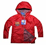 Official Licensed Barcelona FCB Boys Girls Football Long Sleeve Coat Jacket | Messi Neymar Suarez-116cm-Design 1