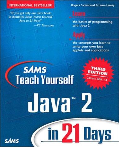 Sams Teach Yourself Java Pdf
