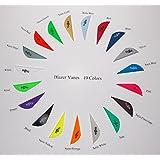 Bohning Blazer Vanes W/Logo 19 Colors Mix/Match Pkg/100