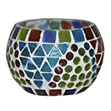 HND00663 Designer Indian Handmade Glass Candle Holder