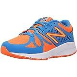 New Balance Vazee Rush Grade Running Shoe Big Kid Orange/Blue 4 M US Big Kid