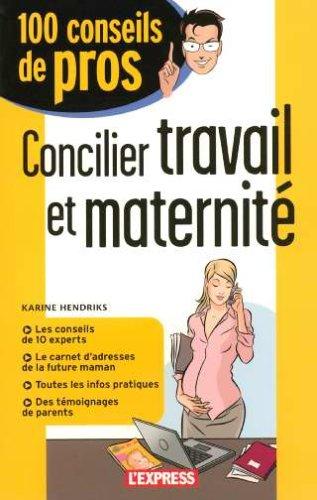 Livre > Concilier travail et maternité
