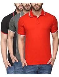 Scott Young Men's Premium Cotton Polo T-shirt - Pack Of 3 - B01428FE42
