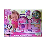 Disney Junior Mickey Mouse Clubhouse MINNIE MOUSE BOW-TIQUE MINNIE & DAISYS HOUSE Friendship In Bloo