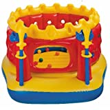 Castle Bounce Bouncer Playhouse w/ 24 Air Filled Balls, Inflatable Swords, etc.