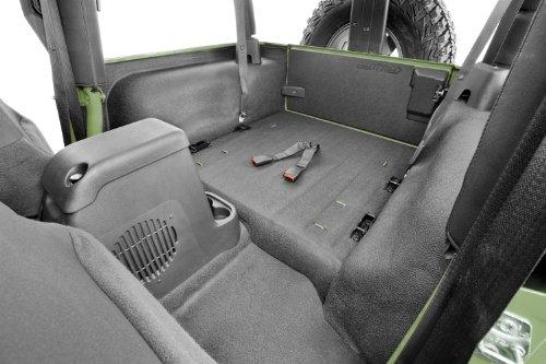 Bedrug BTTJ97R BedTred Rear Cargo Liner Kit for Jeep Wrangler TJ