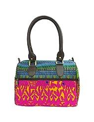 Stylocus - Ladies Rabari Bag - Multi Color Rabari Bag -Embroidery Hand Bags