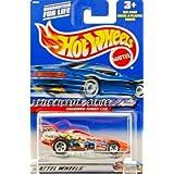 2000 Mattel Hot Wheels Speed Blaster Series #1 Of 4 Firebird Funny Car (Metallic Orange) Racing Graphics 5 Spoke...