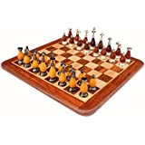"15"" X 15″ Collectible Wooden Chess Game Board Set+Wooden Brass Pieces (Delivery < 7 Days)"