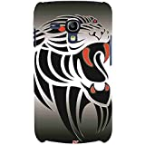 For Samsung Galaxy S3 Mini I8190 :: Samsung I8190 Galaxy S III Mini :: Samsung I8190N Galaxy S III Mini Beautiful Tiger ( Beautiful Tiger, Tiger, Icon, Nice Icon, Grey Background ) Printed Designer Back Case Cover By FashionCops