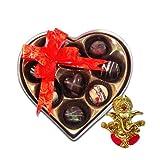 Chocholik Belgium Chocolate Gifts - Rich And Delicious Choco-treats With Ganesha Idol - Diwali Gifts