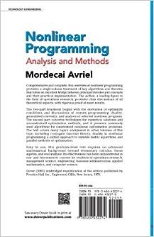 Nonlinear Programming: 3rd Edition