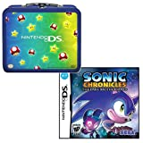 Nintendo DS Mushroom Starter Lunch Box PLUS Sonic Chronicles The Dark Brotherhood Nintendo...