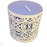 Decorative Buckets PILLAR CANDLE WITH CANDLE HOLDER: DIWALI DECORATION