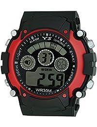 Boy's Watches (Rjcreation Digital Black Dial Boy's Watch) - B0716BJHFT