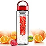 Teika Fruit Infused Water Bottle 25 Ounce The Fun & Healthy Way To Enjoy Your Water