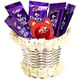 Cadbury Dairy MIlk & Skylofts Chocolates Gift Pack ( 10pcs)