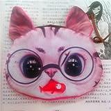 Gossipgirl Cat Face Small Purse-Glasses