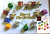 Gifts Online Assorted Christmas Tree Decorations - Set of 16 Decorative pieces