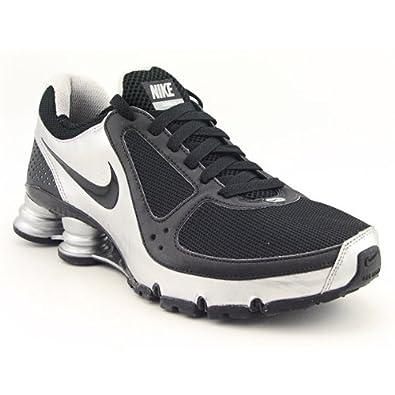 Nike Wmns Shox Turbo+ 10 Black/Black-Metallic Silver Womens Shoes 385752-001