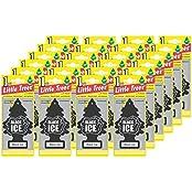 Car Freshener Little Tree Air Freshener-Black Ice 24 Pack