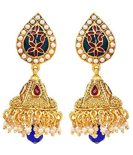 Akshim Multicolour Alloy Earrings For Women - B00NPY9298