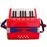 104 Red Childs Accordion