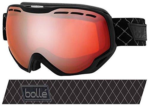 Bolle 21115 Emperor OTG Ski Google, Shiny Black