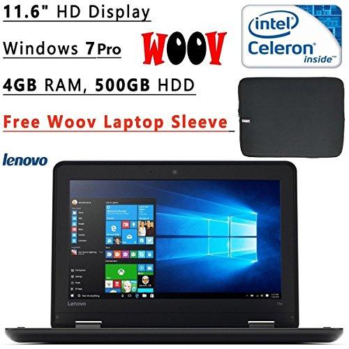 "2016 Lenovo Thinkpad 11e Flagship High Performance 11.6"" HD Laptop PC   Intel Celeron N2940 Quad-Core   1.83 GHz..."