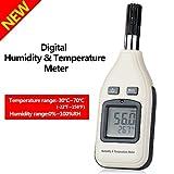 湿度計 温度計 温湿度計 高精度  デジタル温湿度計 温度 湿度 測定 高感度センサーを搭載