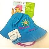 UV 50 Sun Protection Bucket Hat 6-12 Months Kids Sunblock Hat With Ajustble Strap By Speedo, 6-12 Months/aqua,...