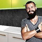 "Küchenrückwand selbstklebend Pro "" SCHIEFER "" 60 x 60cm DIY - Do It Yourself"