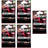 Tuscan 5 Packs Of 10 Pieces 2700mah AA 1.2V, Rechargeable Ni-Mh Batteries 2700 MAh AA Size