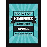 Framed Quotes On Life - Poster With Frames For Living Room And Home Decoration - Kindness