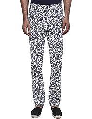 GENES - Lecoanet Hemant Chic Floral Printed Slim Trouser