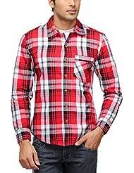 Yepme Men's Checks Cotton Shirt - YPMSHRT0307